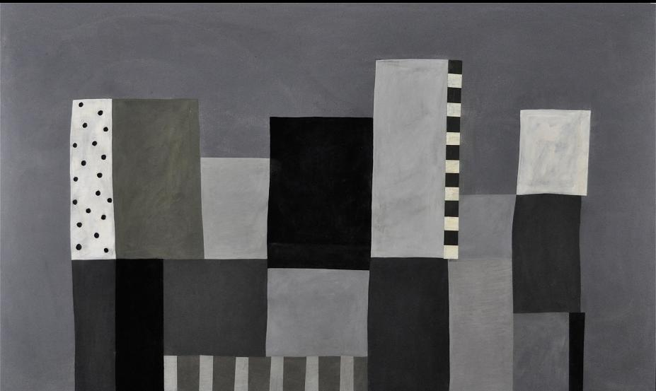 Milton Ausherman, Untitled (h1), Oil on canvas, 73 x 120 in., 2012