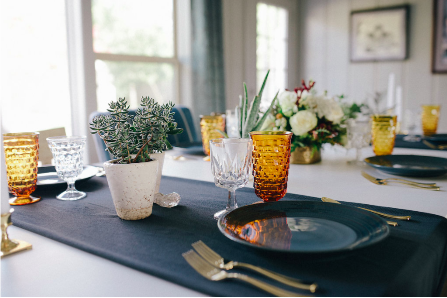organic dinner party inspiration