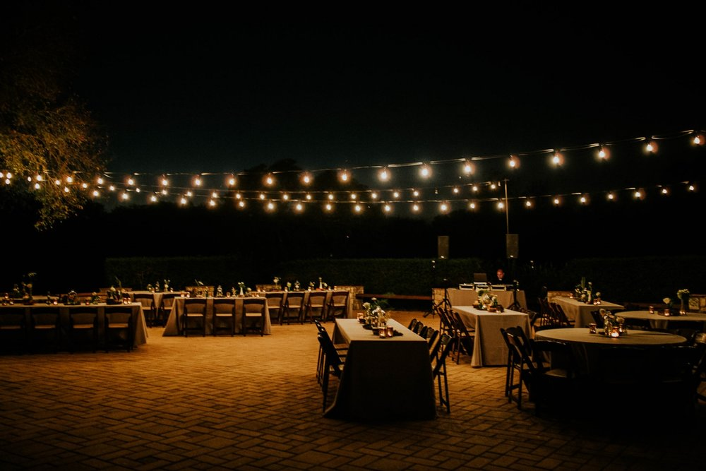 vineyard courtyard reception