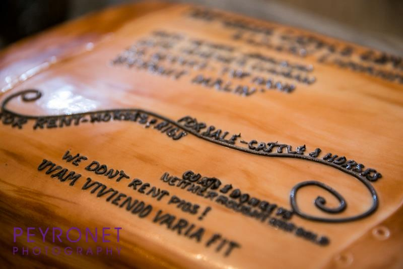 lonesome dove grooms cake rustic cowboy sandees sweets peyronet photography