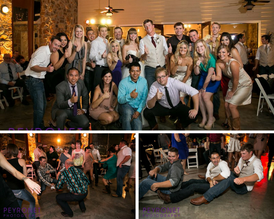 Aggie Wedding Reception College Station Double Creek Crossing Epoch Co Peyronet Photography