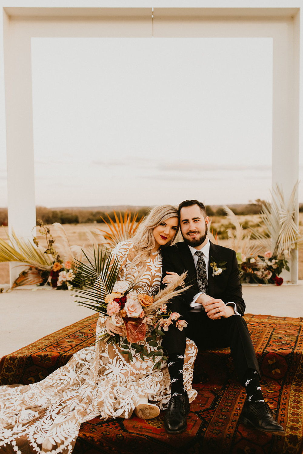 Photographer : Century Tree Productions  ||  Floral : Tersilla Co ||  Venue : Prospect House, Dripping Springs, Texas