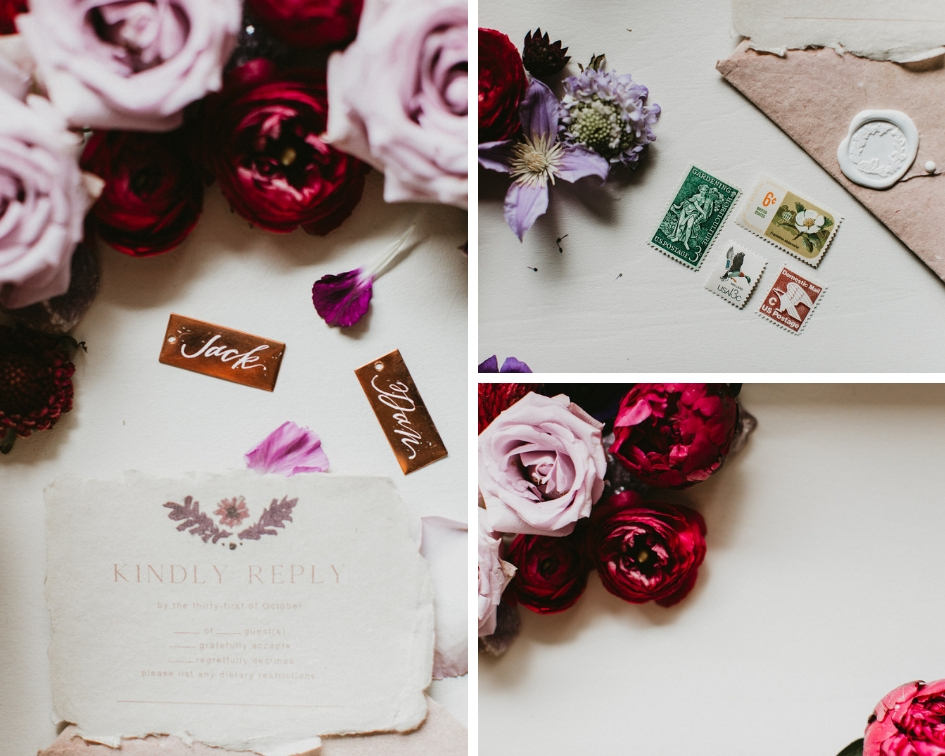 Photography: Century Tree Productions  ||  Floral: Urban Rubbish  || Stationery: Halfmoon Lettering || Venue: The Vine, New Ulm, Texas