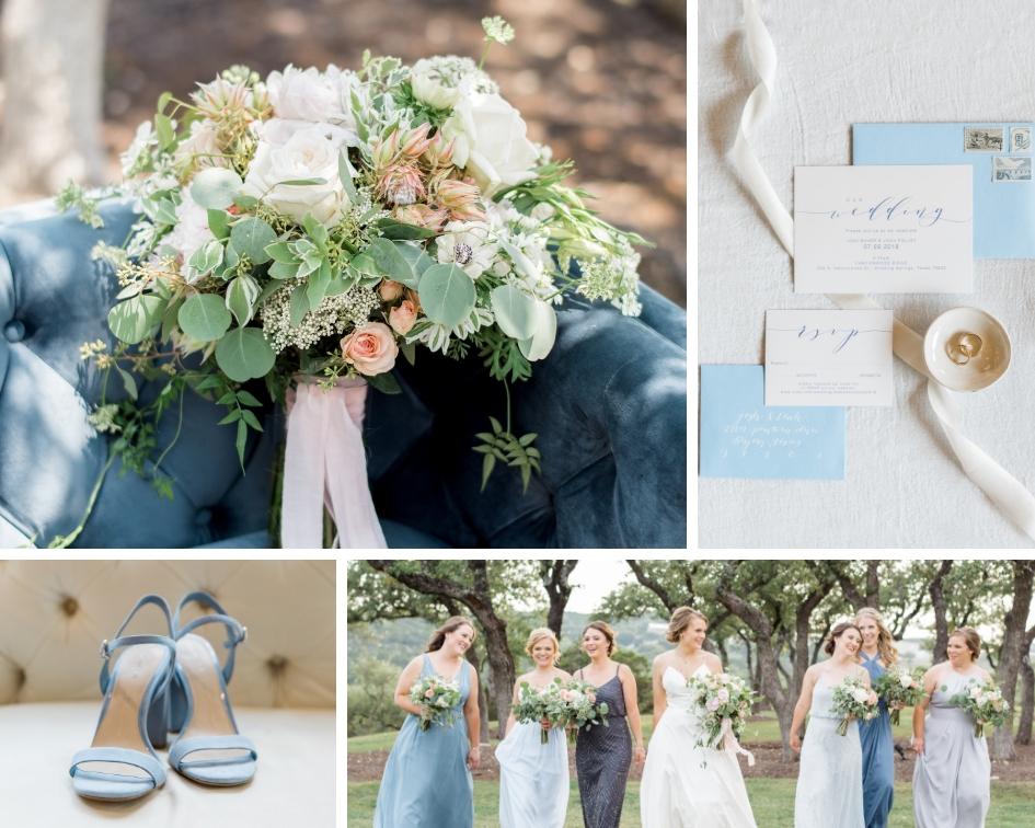 austin wedding canyonwood ridge dusty blue inspiration wedding planner epoch co+
