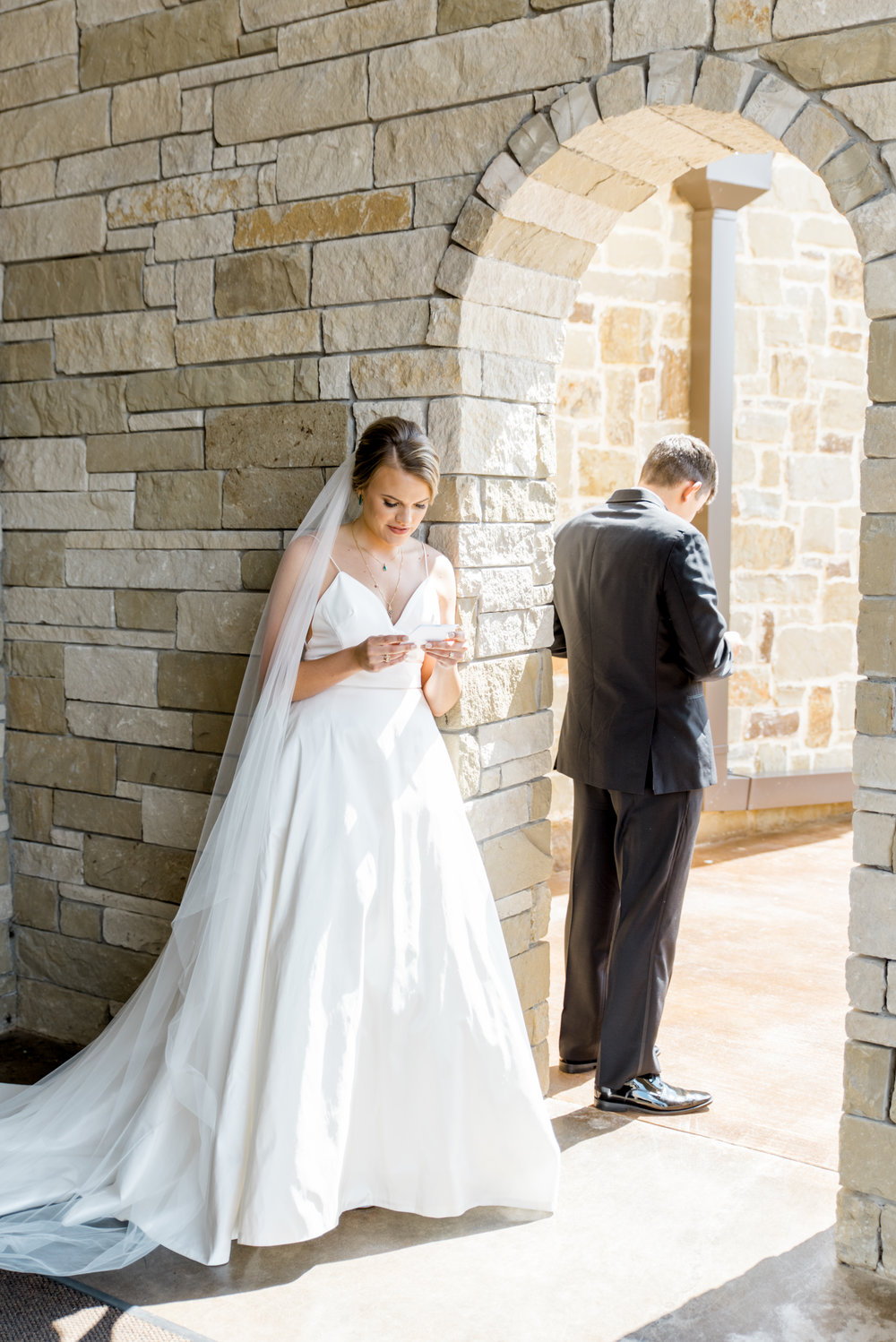 bride and groom wedding day letters gifts canyonwood ridge austin wedding planner epoch co