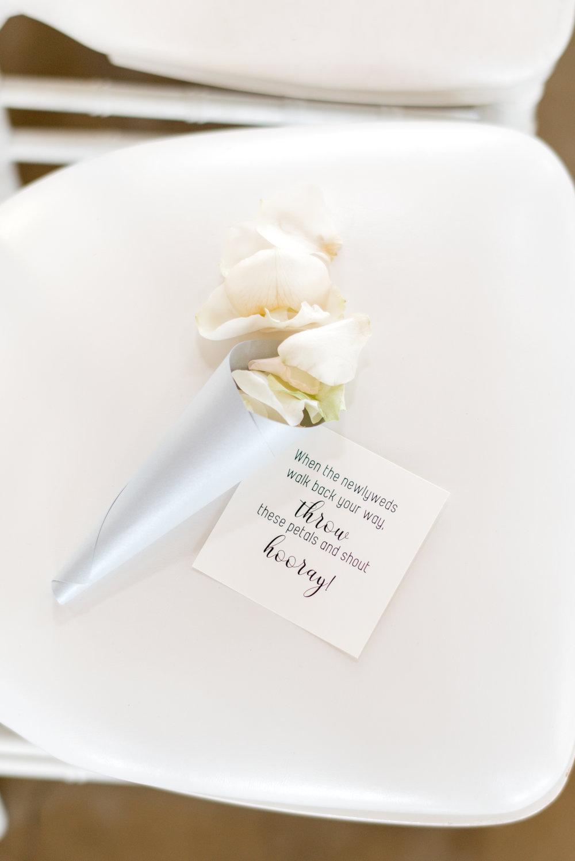 ceremony petal toss california wedding planner coordinator epoch co+