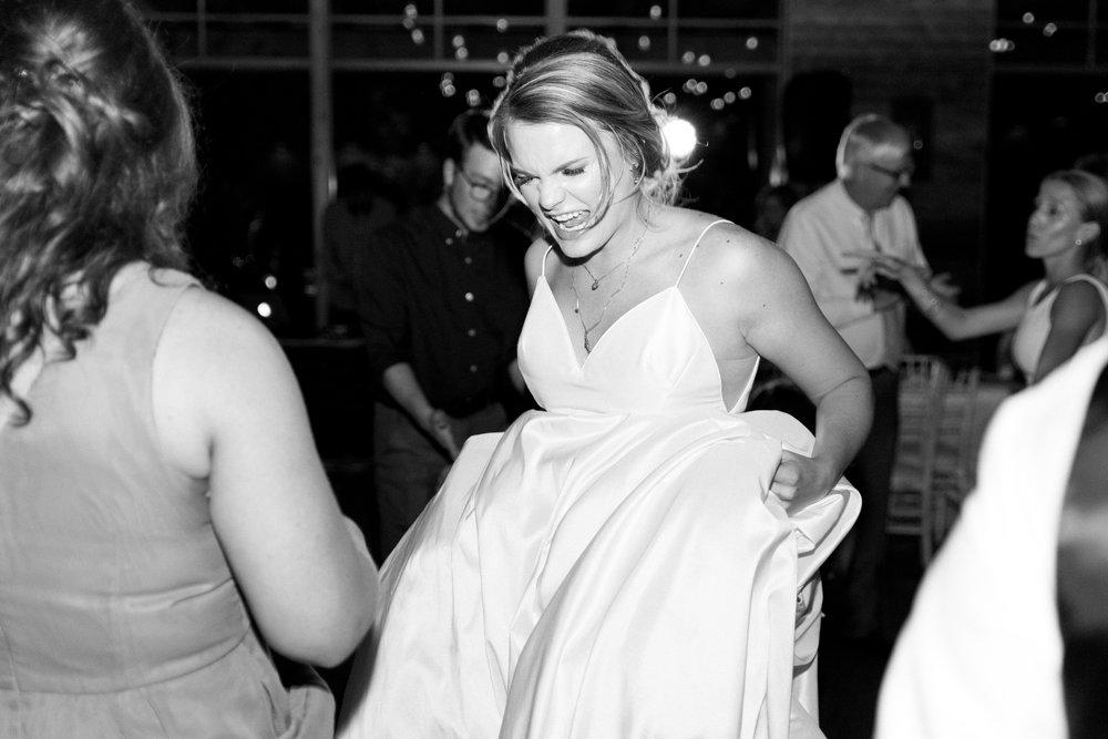 bride dancing wedding day erin elizabeth photography austin texas