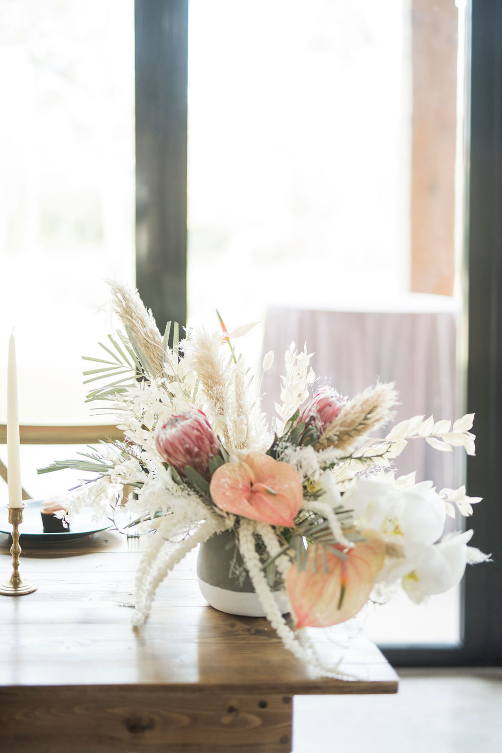 boho beachy concrete modern floral wedding inspiration destination wedding planner epoch co texas