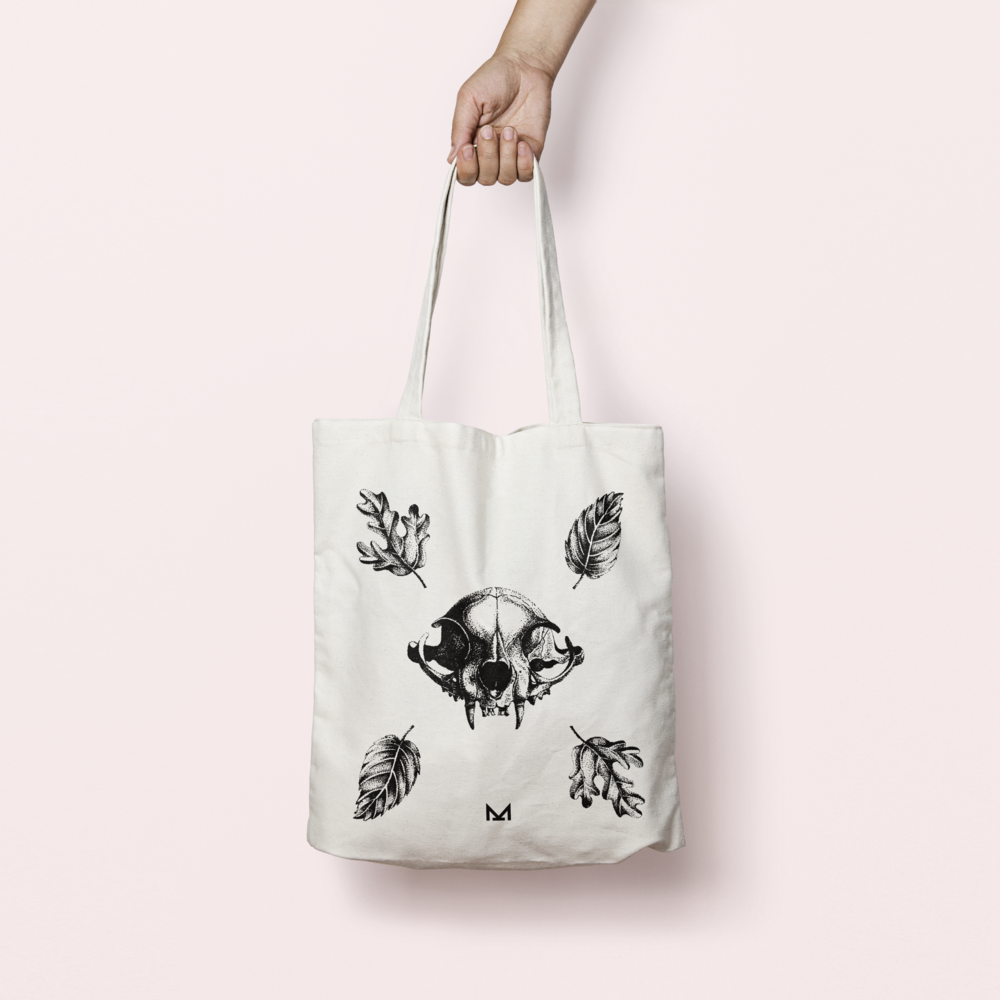 tote bag the beast - CHF 15.– / pièce