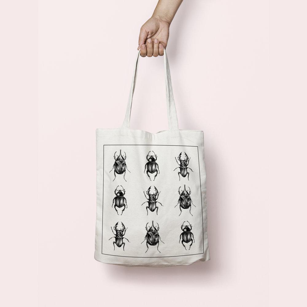 tote bag taxidermy - CHF 15.– / pièce