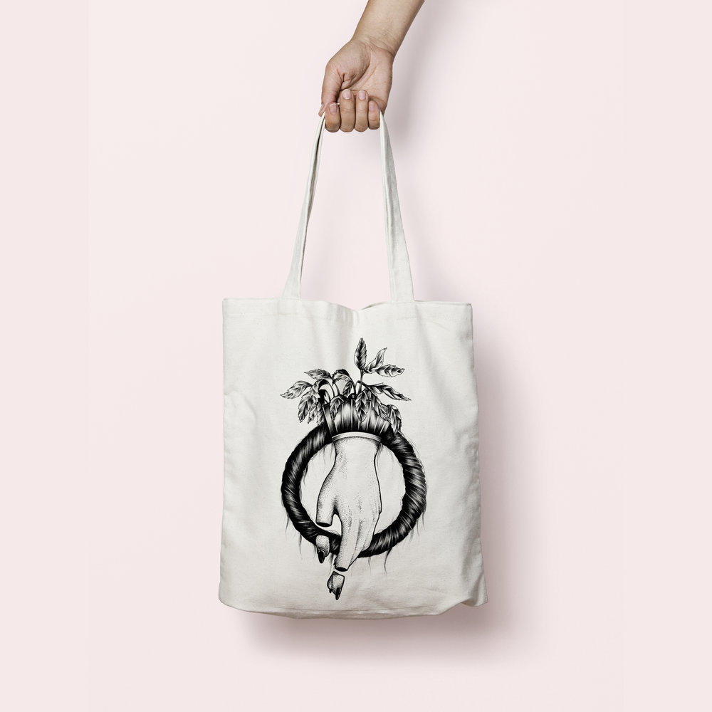 tote bag purity ring - CHF 19.– / pièce