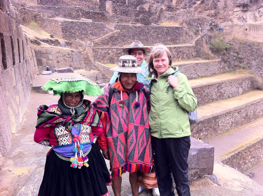 With gratitude for all  my friends in  Peru. .