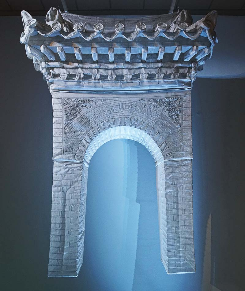 Gate by Do Ho Suh | Photography Courtesy of Singapore Art Museum