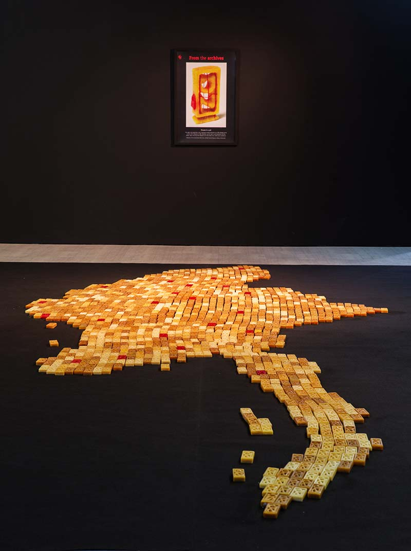 Soap Blocked by Htein Lin | Photography Courtesy of Singapore Art Museum