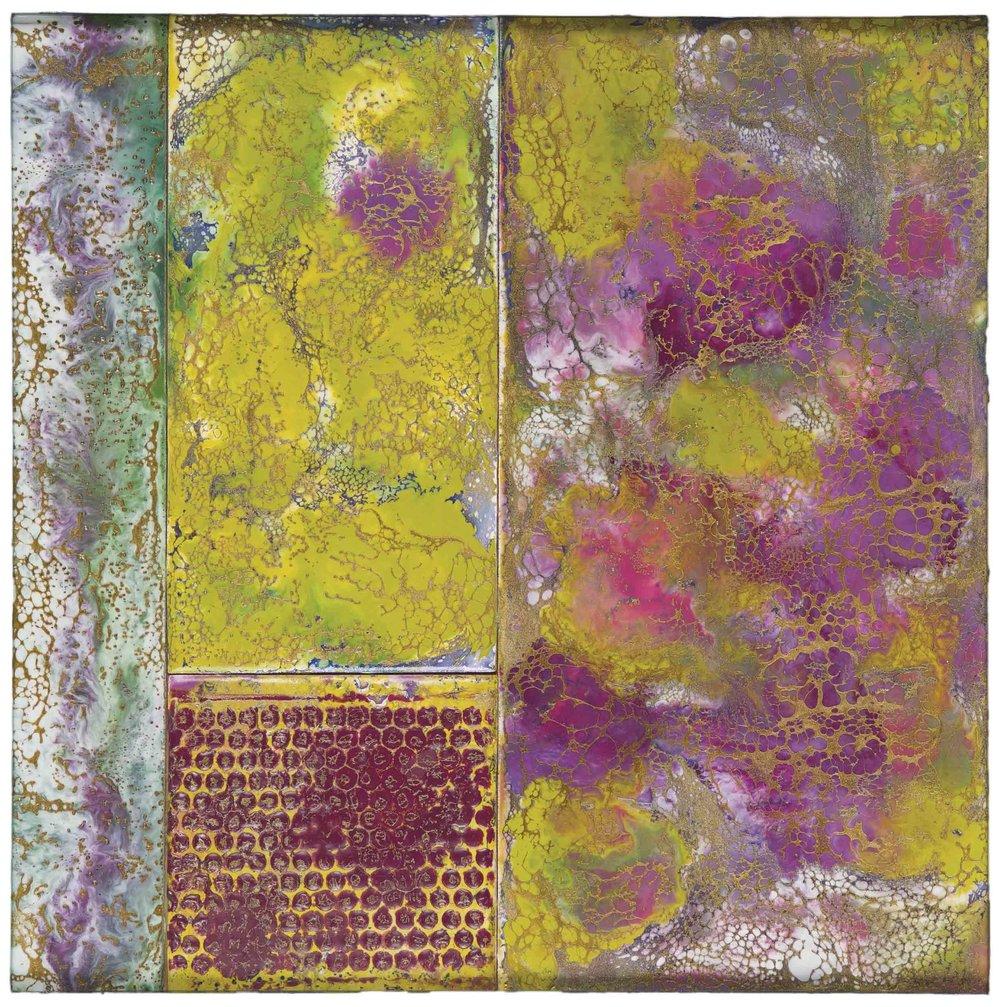 Rae Dollard  (TX)  Green Mosaic