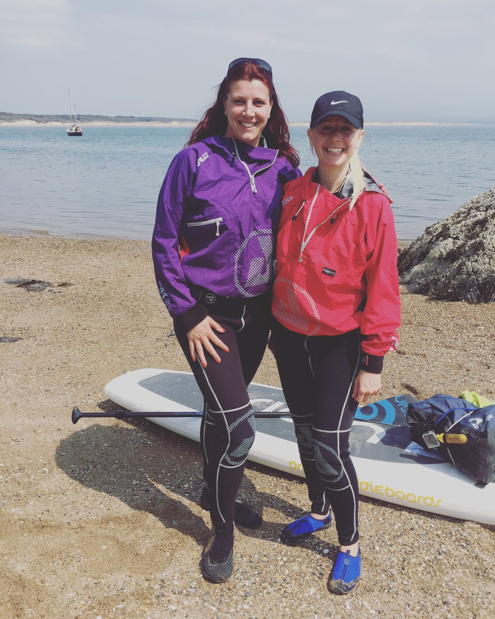 Psyched Paddleboarding Guests