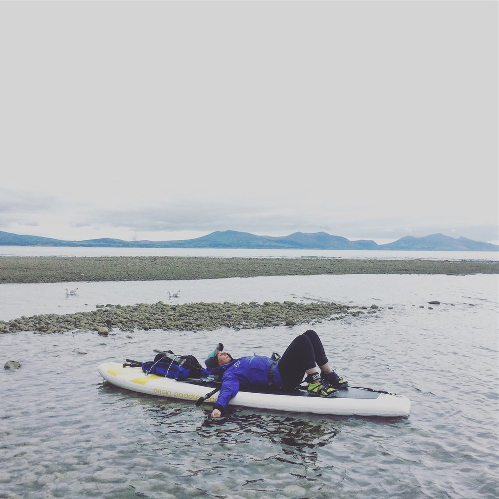 Sian Sykes | 1st person to SUP Circumnavigate Anglesey