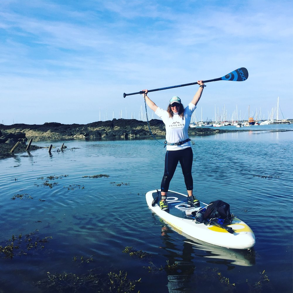SUP circumnavigation | Stand up Paddleboarding Holyhead Harbour, Anglesey