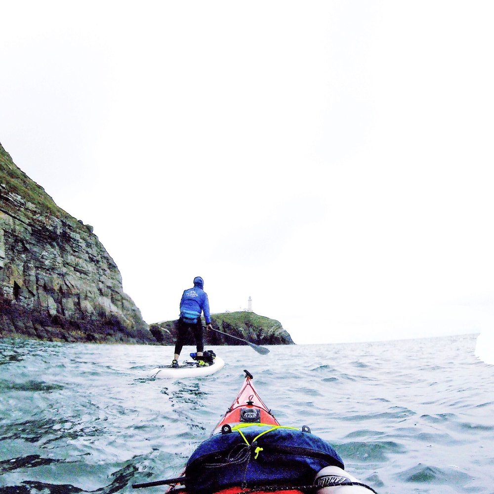 SUP circumnavigation | Stand up Paddleboarding South Stack, Anglesey