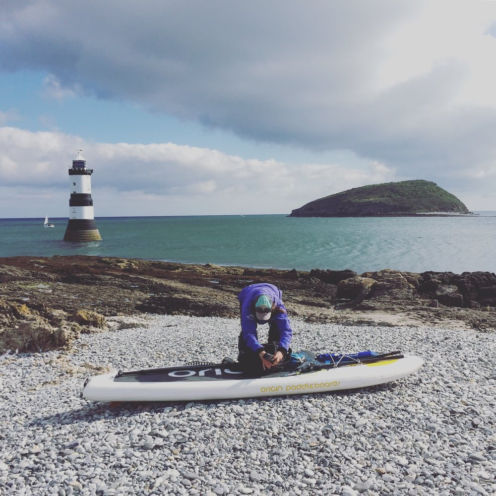 SUP circumnavigation | Stand up Paddleboarding Puffin Island / Penmon, Anglesey