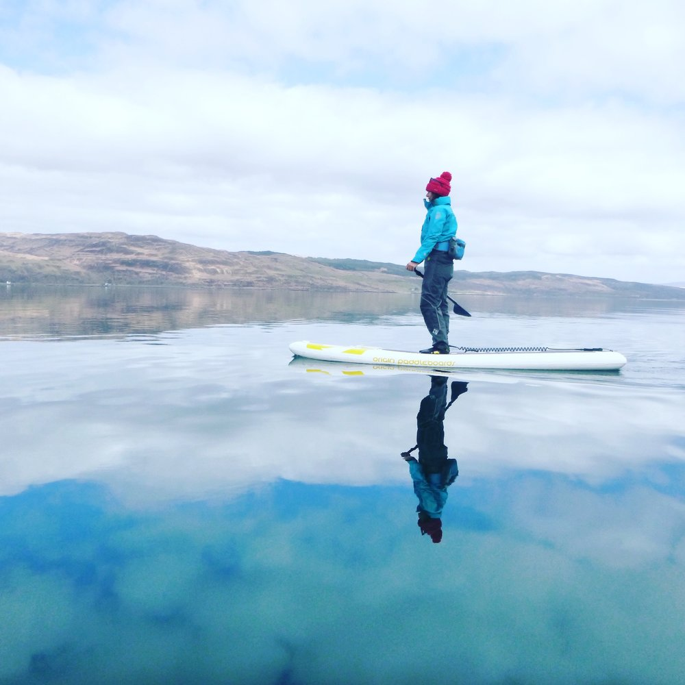 Psyched Paddleboarding | Mull