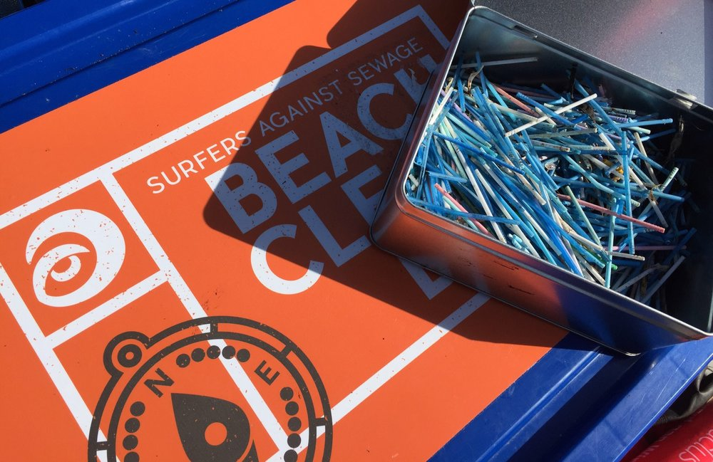Surfers Against Sewage | Beach clean | Think before you flush
