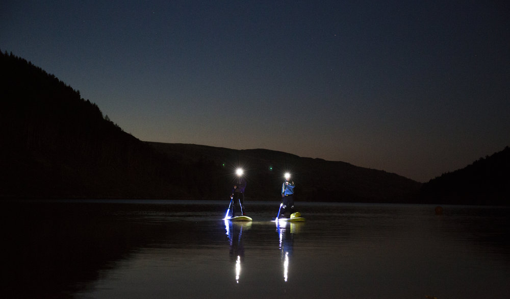 Night SUP in Snowdonia with Psyched Paddleboarding, Corporate Events