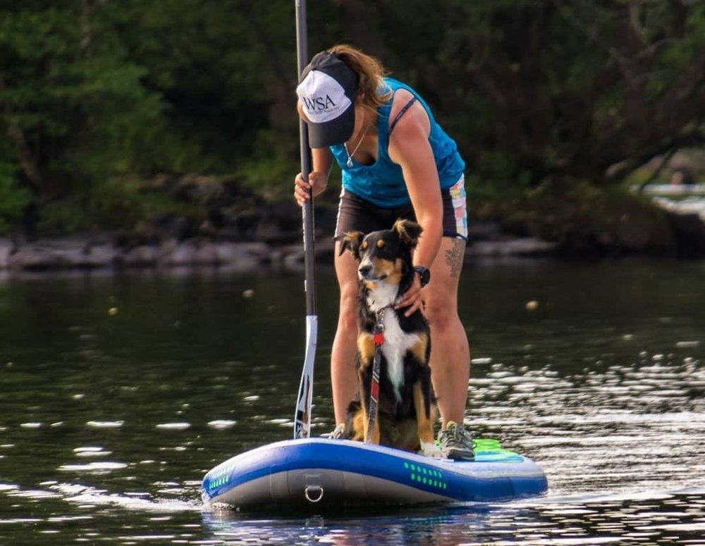KATIE | PSYCHED PADDLEBOARDING