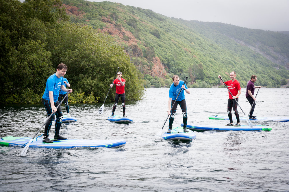 Beginner SUP | Psyched Paddleboarding |Stag Events