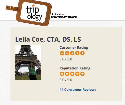 Tripology reviews of Leila Coe
