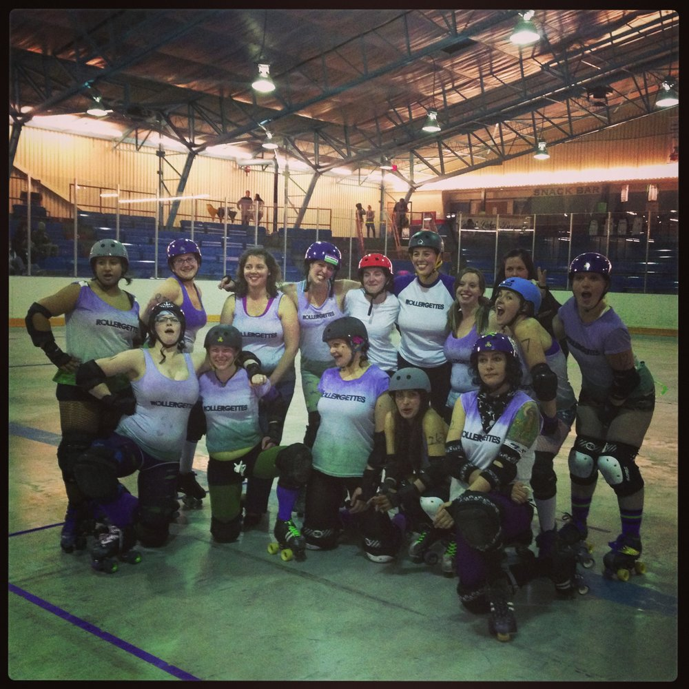 Drama Mean (Nancy Kenny)'s home league The Rollergettes