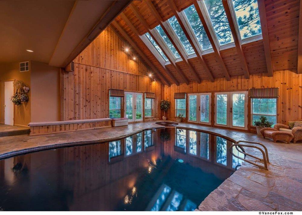 Indoor Swimming Pool Truckee
