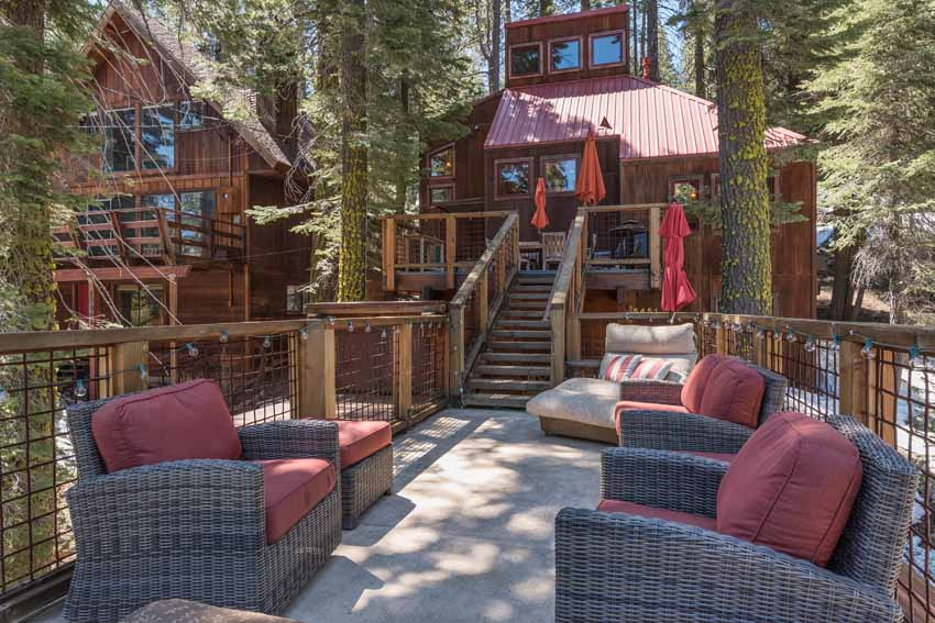 Donner Lake Outdoor Entertaining