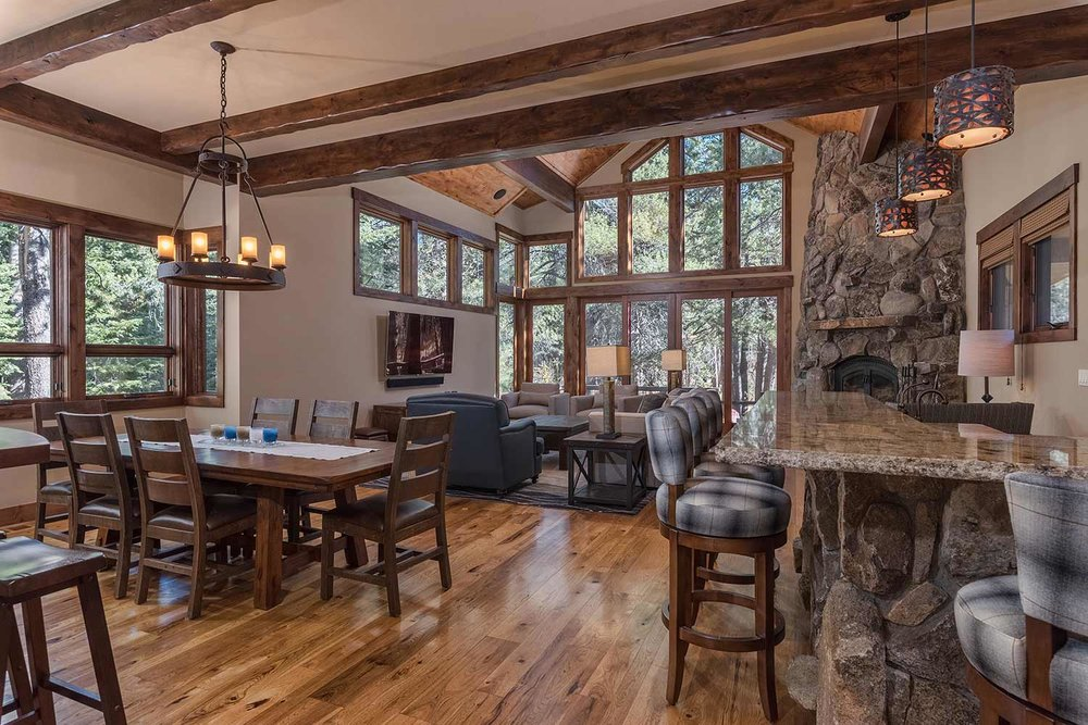 SOLD! Elegant Mountain Retreat in Tahoe Donner