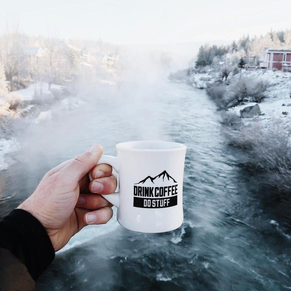 drink coffee do stuff truckee