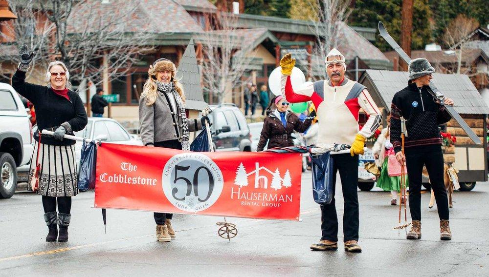 Snowfest Parade Tahoe City