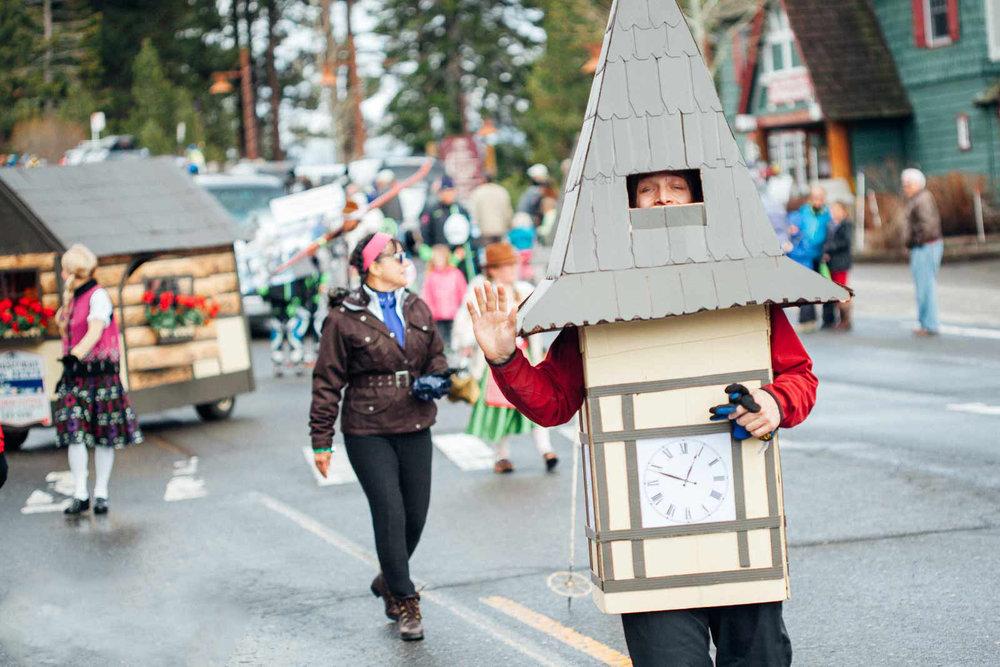 Kings beach snowfest parade
