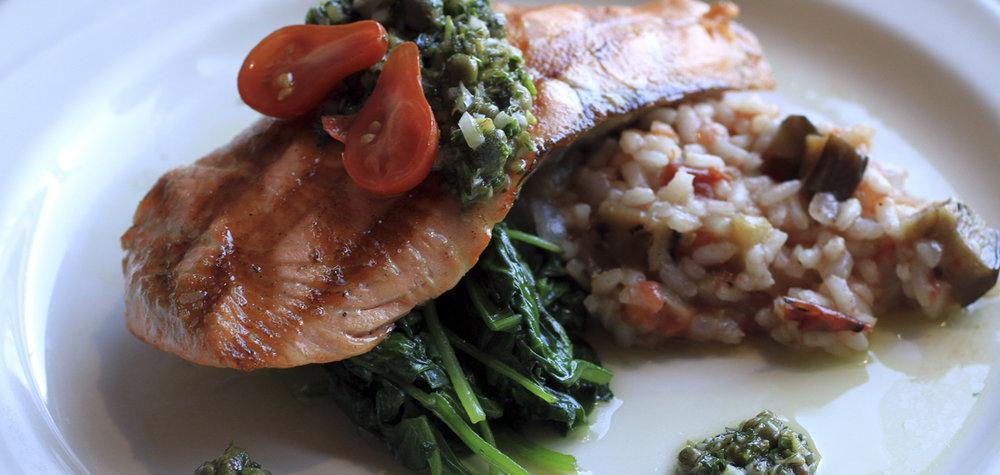 Salmon Weekly Special at Pianeta