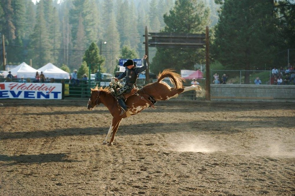 The Truckee Professional Rodeo will host the 2018 Pro Rodeo, photo from  Facebook