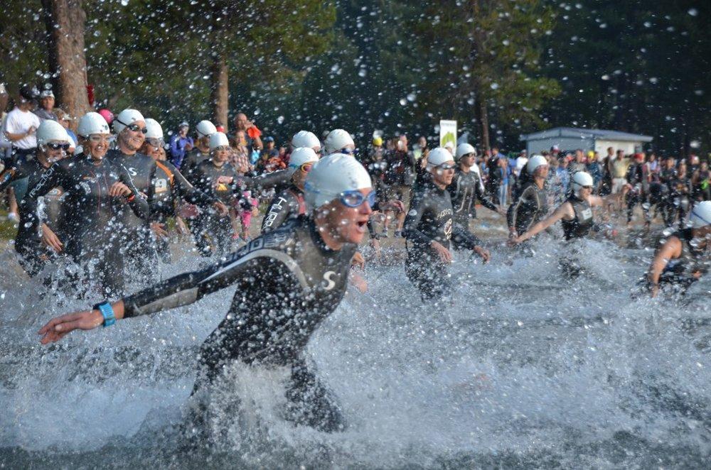 Photo from Donner Lake Triathlon  website.