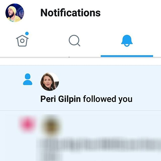 This one means a lot. Thanks for the follow @peri.gilpin #rozdoyle #frasier