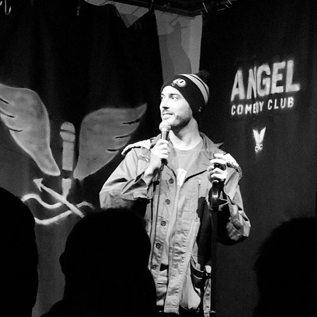 That was a fun one! Thanks @angelcomedy for the spot #standup #london