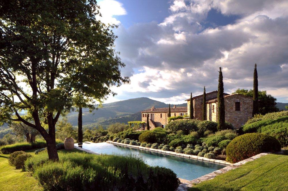 Castello di Reschio Estate, Umbria