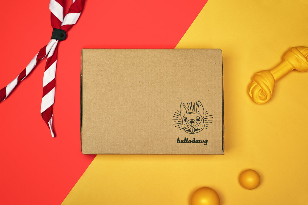 OUR CONCEPT - We're all looking for the best, durable and healthy – but never boring - products for our dog.At hellodawg, every boxes are created to make it easy for you to play around with your fur friend.We really care about your dog's happiness, that's why our squad is testing each and every product that is part of our boxes.We work hard to make sure it's delivered to your door as soon as possible!What's inside?Every hellodawg box has 4 amazing products within these categories : all natural treats, chews, innovative toys and body care products.