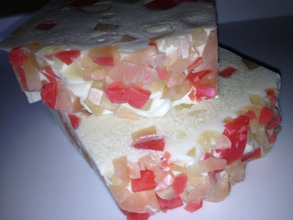 Fruit bowl soap loaf