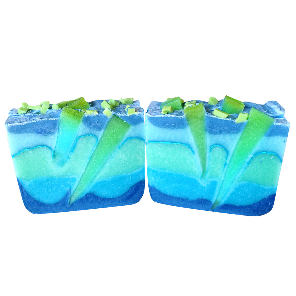 Under the sea hybrid graduated layer soap
