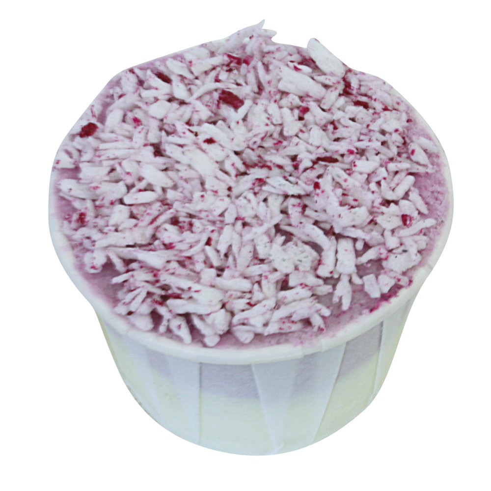 Coconut Ice bath creamer made on the advanced bath treats course
