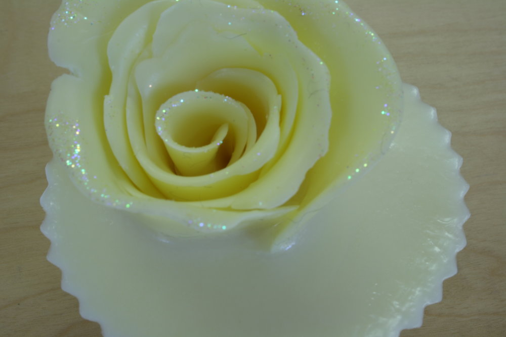 Hand made soap flower