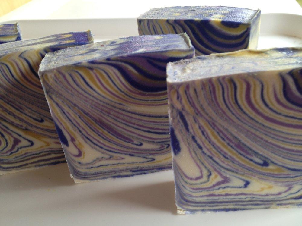 Offset Tiger Swirl Soap
