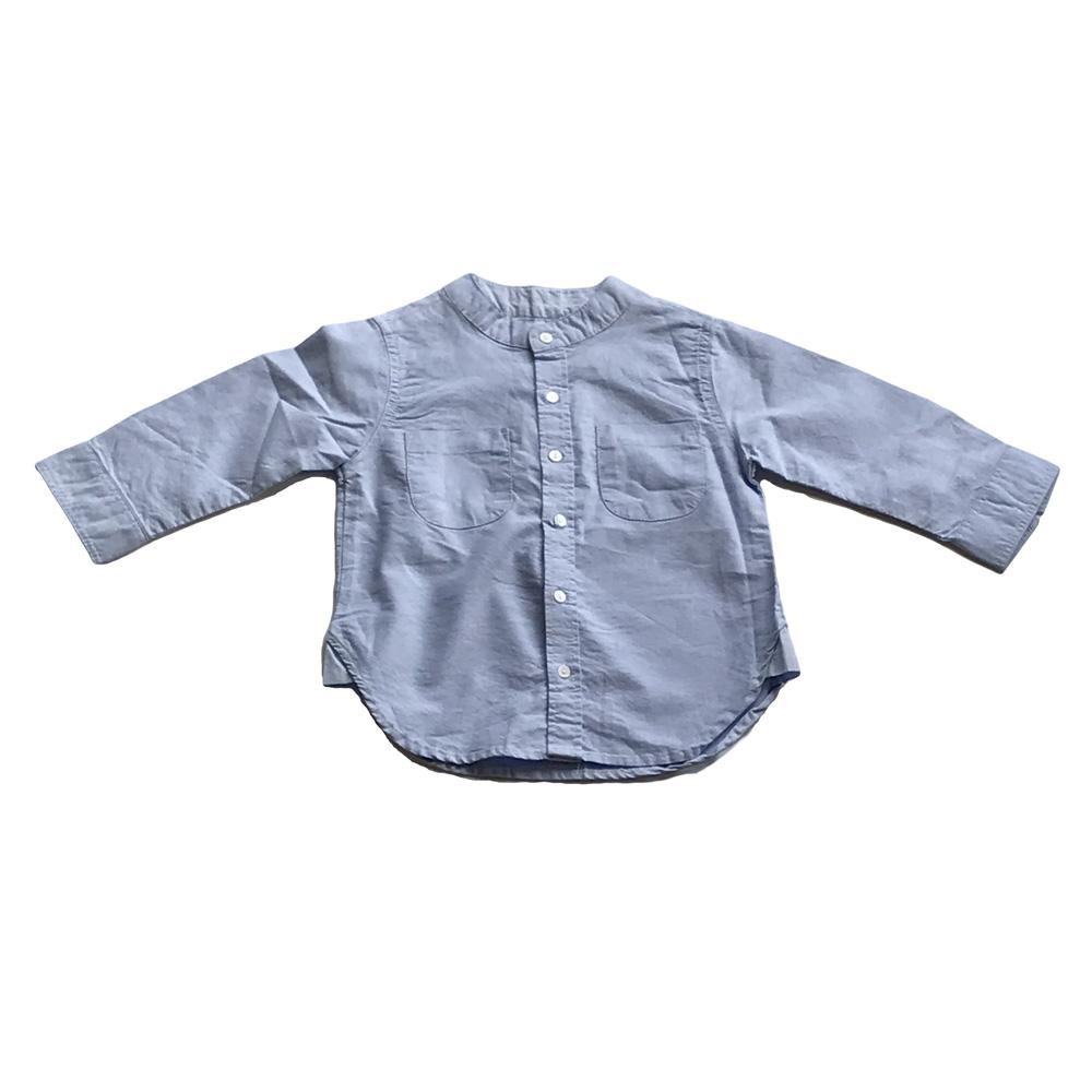 TOP005-Chambray Oxford Shirt.JPG